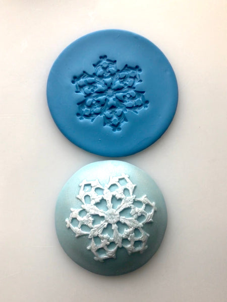 Embossing Mat - Single Snowflake