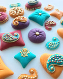 Mehndi Cushions - Large Set 2 (3 moulds)