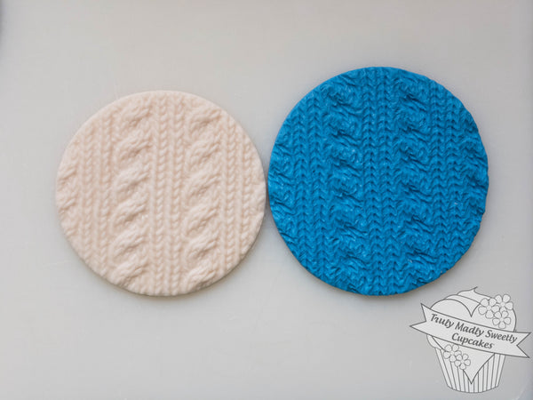 Embossing Mat - Cable Knit