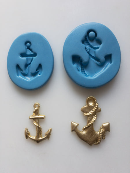 Nautical Mould - Anchor Small