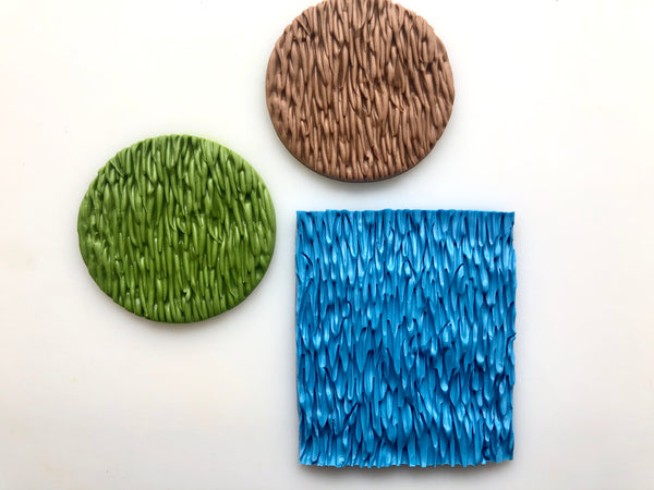 Grass/Fur Embossing Mat