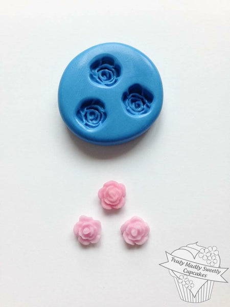 Rose Mould - Triple Teeny