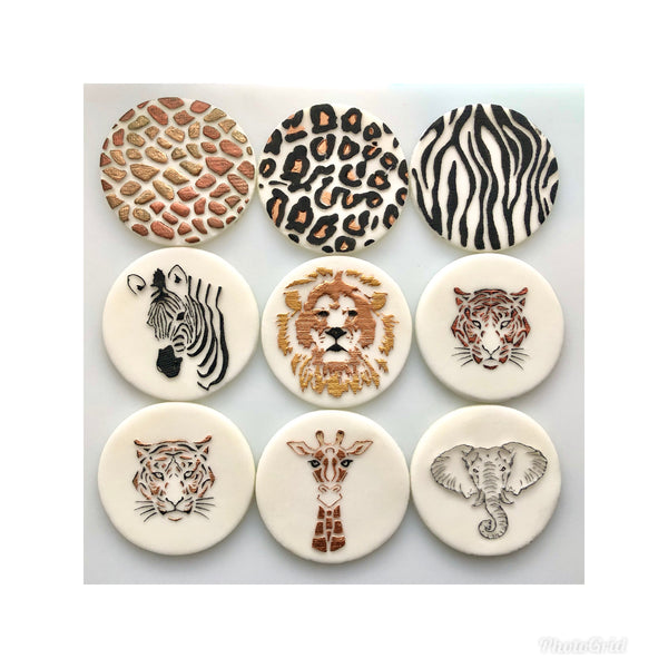 Proud Prints - Jungle/Safari Animals