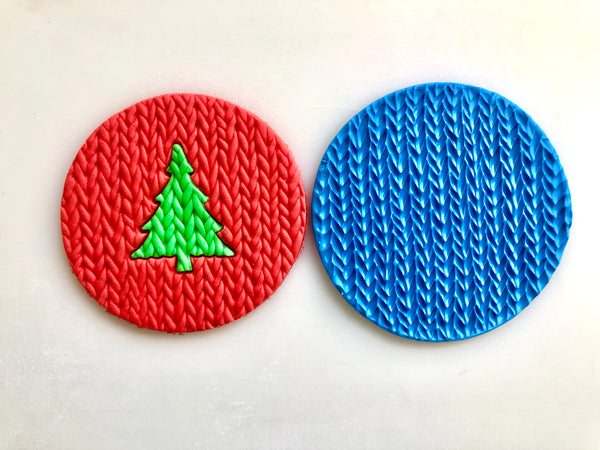 Embossing Mat - Mini Knit