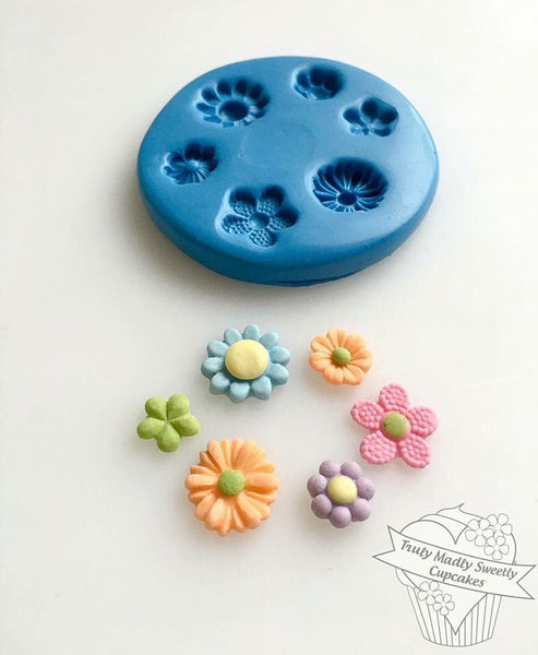 Multi Mini Floral Mould