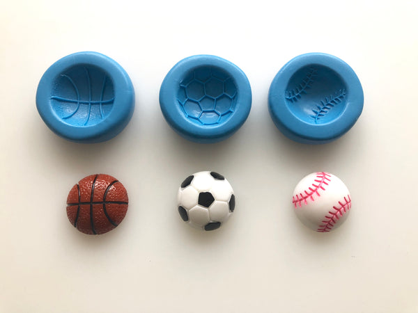 Ball Moulds - Basketball/Football/Baseball