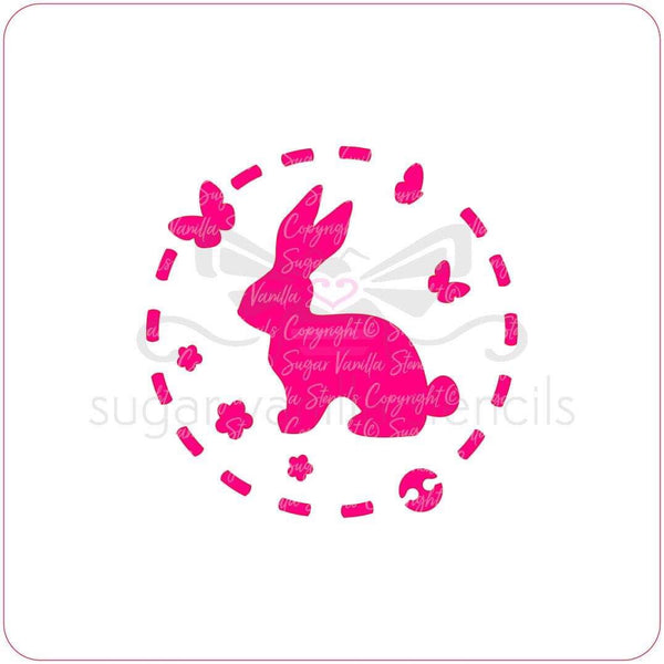 Stencil - Easter Bunny