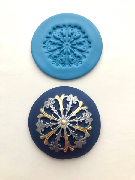 Embossing Mat - Filigree Snowflake