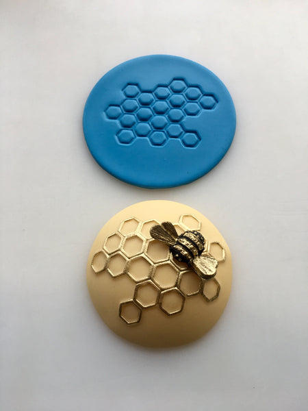 Embossing Mat - Honeycomb