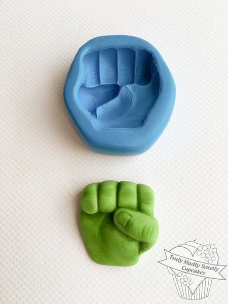 Superhero Fist Mould - Hulk inspired