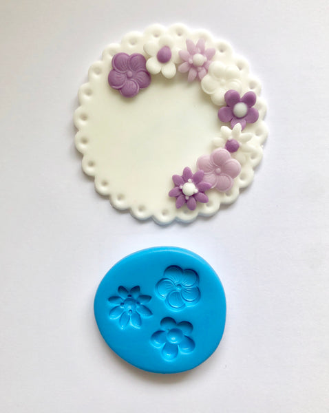 Mini Triple Blossom Mould