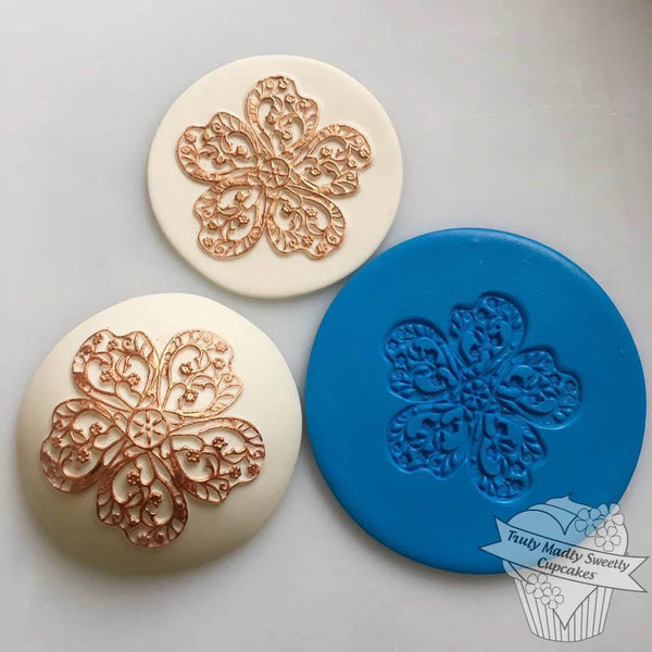 Embossing Mat - China Rose