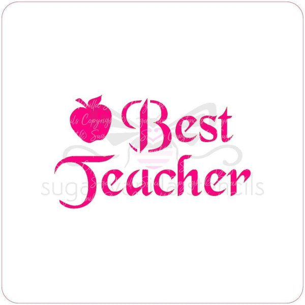 Stencil - Best Teacher