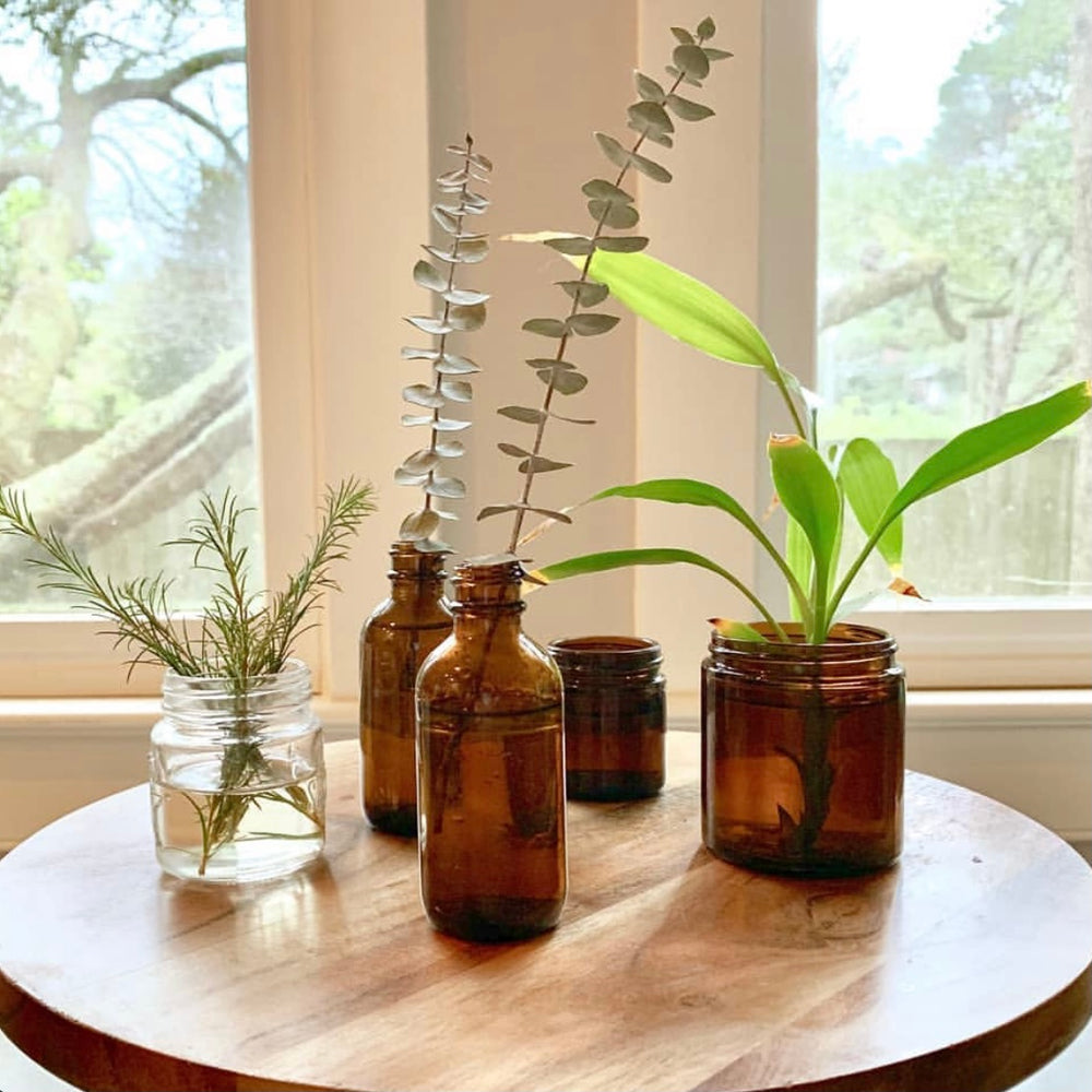 10 Ideas to Repurpose or Glass Jars & Bottles