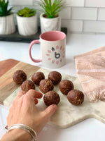 Chocolate Mint Truffle Bites