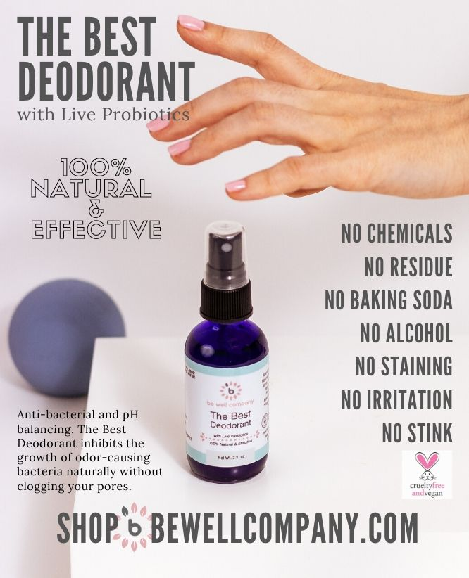 be well Launches Industry Changing Natural Deodorant