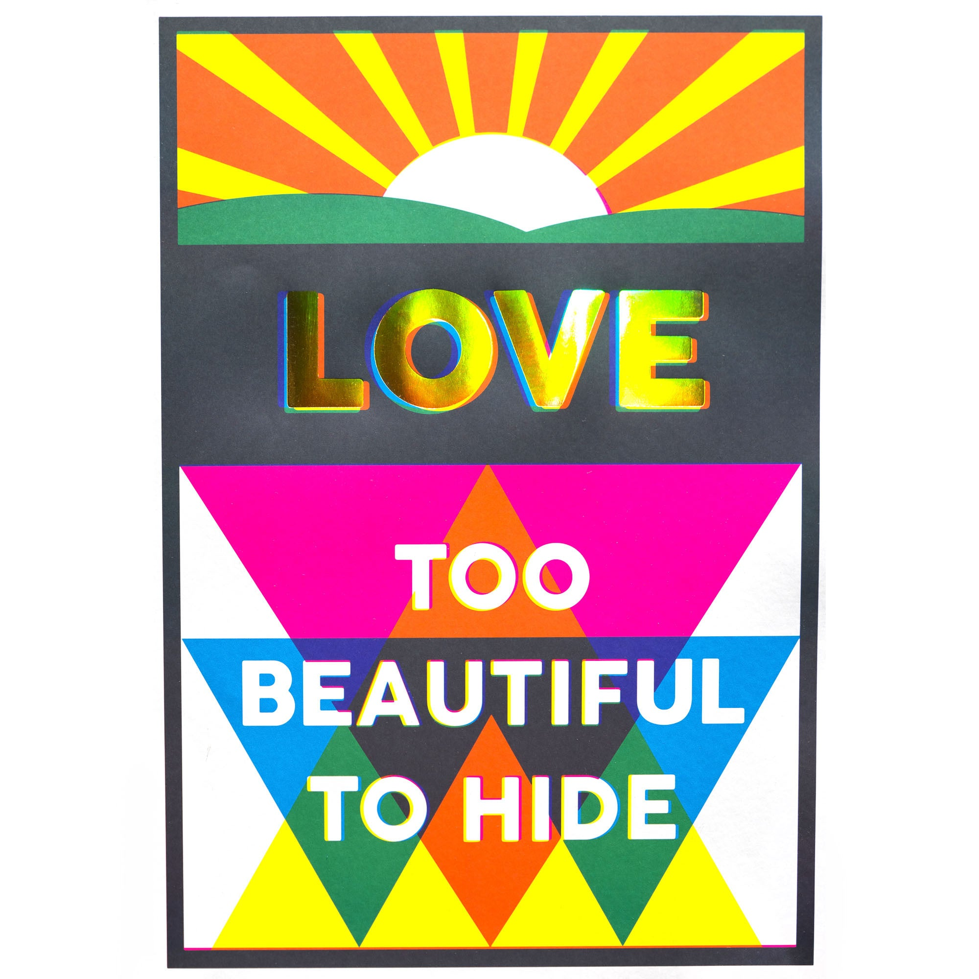LOVE TOO BEAUTIFUL TO HIDE