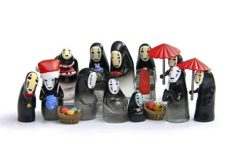 Studio Ghibli Spirited Away No Face Translucence Figures - 50shades.store