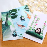 Spirit Away Hand Drawing Postcard 30 Pcs/Lot - ghibli.store