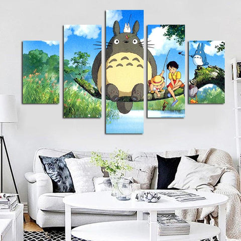 Totoro Art Wall Poster