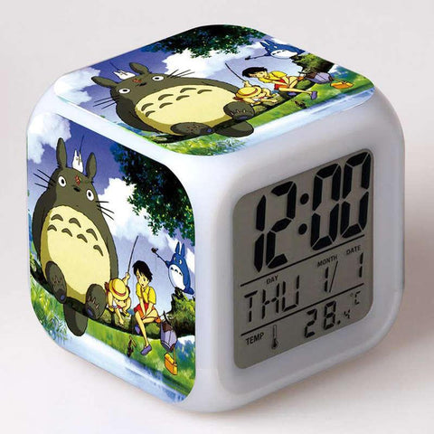 Totoro Led Digital Clock - ghibli.store