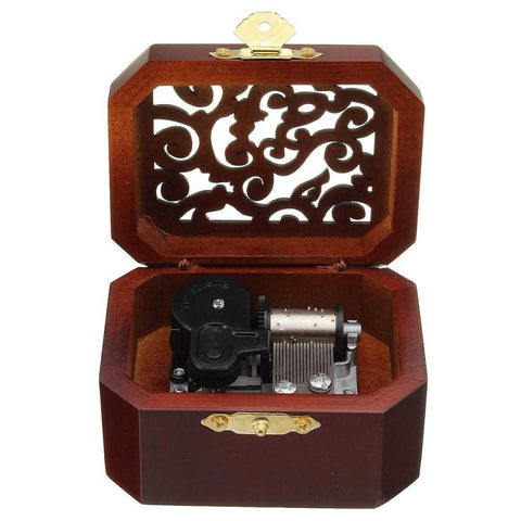 Laputa Castle In The Sky Vintage Music Box - 50shades.store