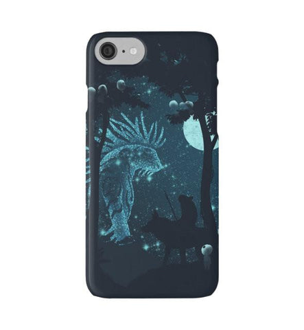 Princess Mononoke Forest Spirit phone case - 50shades.store