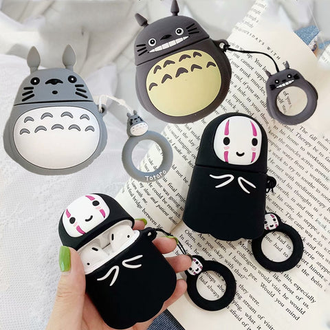 Ghibli Characters Silicone Case for Airpods 1 2