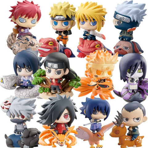 Naruto Toy Figures Collections 6pcs/set - 50shades.store
