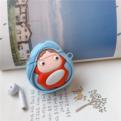 Ponyo on The Cliff Airpods Case