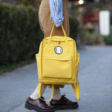 Kaonashi No Face Canvas Backpack 5 Colors - ghibli.store
