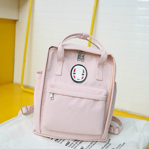 Kaonashi No Face Canvas Backpack 5 Colors
