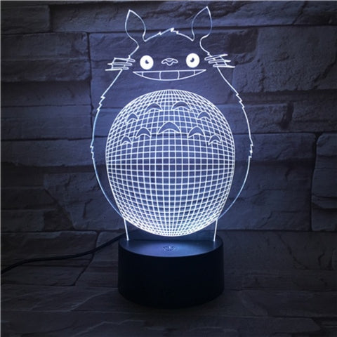 My Neighbor Totoro Unique LED Light Bedroom 16 Colors for Kid - ghibli.store