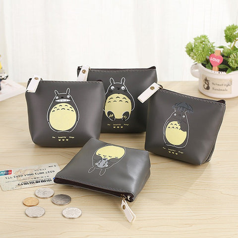 My Neighbor Totoro Leather Purse - 50shades.store