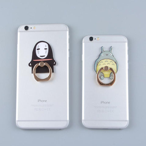 Totoro Kaonashi Figure Stand holder for Iphone - 50shades.store