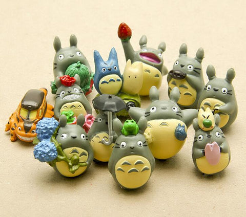 My Neighbor Totoro Mini Garden Decoration 12pcs/set - ghibli.store