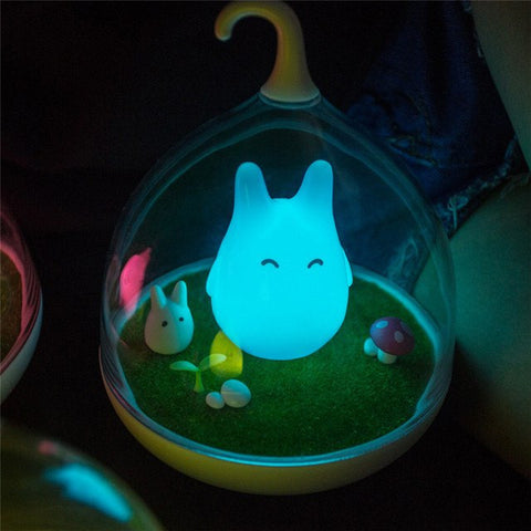 Cute Totoro Night Lamp - ghibli.store