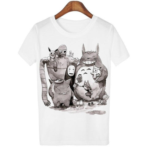 The Perfect Anime Movies Ghibli + Pokemon T-shirt 11 Styles - 50shades.store