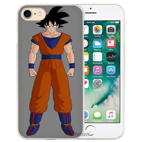 Dragon Ball Z Hard Transparent Phone Case for Apple iPhone 4 4s 5 5s SE 5C 6 6s 7 Plus - ghibli.store