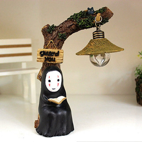 Spirited Away Kaonashi No Face LED NightLight Figure - ghibli.store