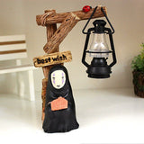 Spirited Away Kaonashi No Face LED NightLight Figure - Ghibli store