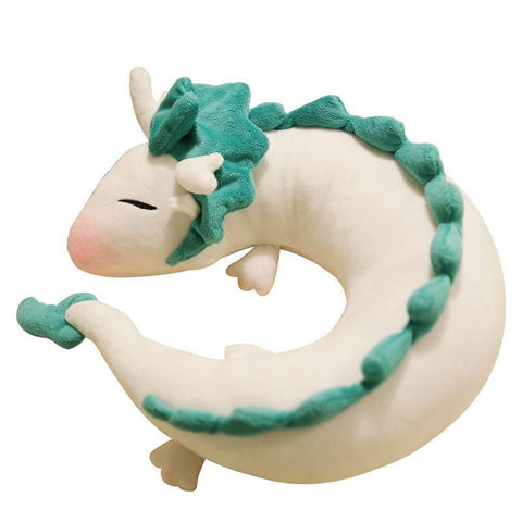 Spirited Away Haku U-Shape Stuffed Plush - ghibli.store