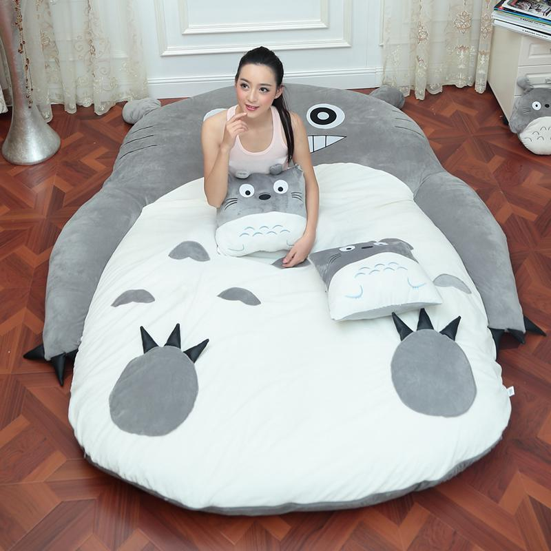 Excellent Totoro Plush Single And Double Bed Machost Co Dining Chair Design Ideas Machostcouk