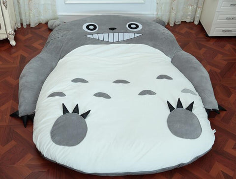 Totoro Plush Single And Double Bed - 50shades.store