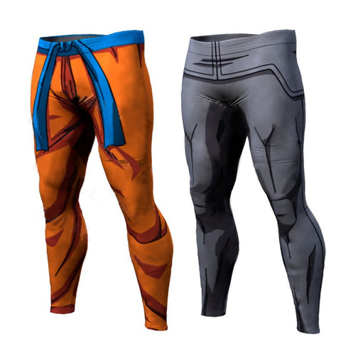 Dragon Ball Z Vegeta Goku 3D Trousers - ghibli.store