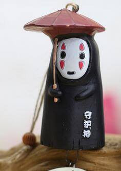 Studio ghibli No Face Wind chimes - 50shades.store