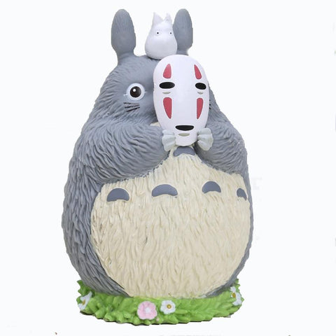 My Neighbor Totoro Cosplay No Face Kaonashi Piggy Bank - ghibli.store