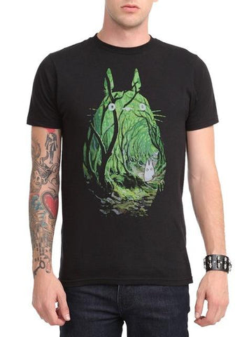 My Neighbor Totoro Forest T shirt - ghibli.store