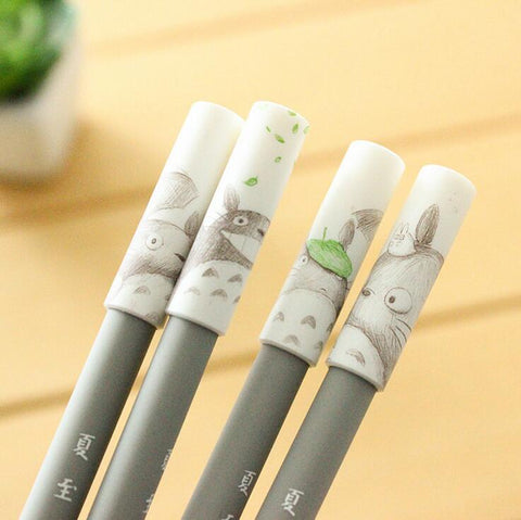 Totoro Cartoon Gel Ink Pen 4 pcs/lot - ghibli.store