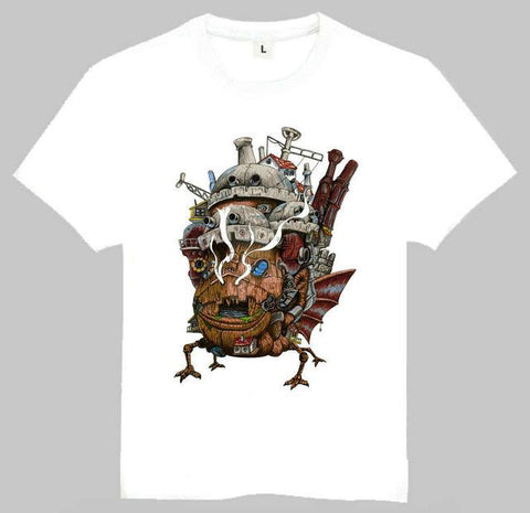 Howl's Moving Castle T Shirt 14 Styles - 50shades.store